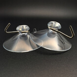 Large 2'' 50mm suction cups with hooks