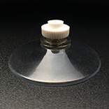 Large suction cup with nut 50mm diameter