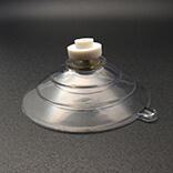 Large suction cup with nuts 60mm diameter
