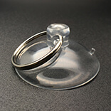 Medium suction cup with ring 40mm diameter