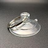 Suction cup with keyring 45mm diameter Thicker