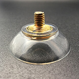 Suction cup with screw 30mm diameter