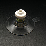 Suction cup with screw nuts 40mm diameter