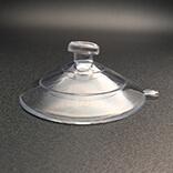 Suction cups with mushroom head 50mm diameter