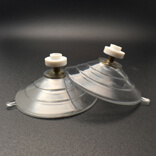 big pvc suction cups with plastic nuts