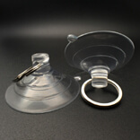 big suction cups with keyring loop