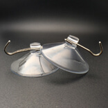 large 60mm suction cup with hooks
