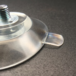 medium clear pvc suction cup screws