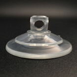 medium thicker pvc suction cups with side hole