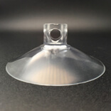 super strong suction cups with side pilot hole