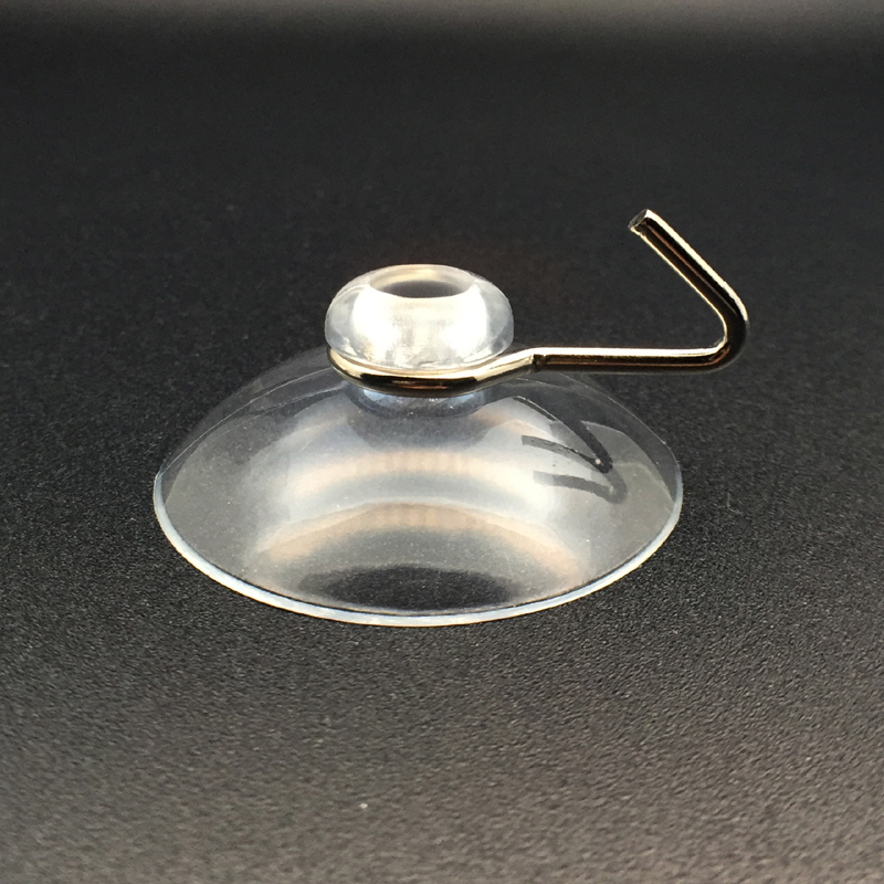 Medium suction cups with hooks 40mm diameter