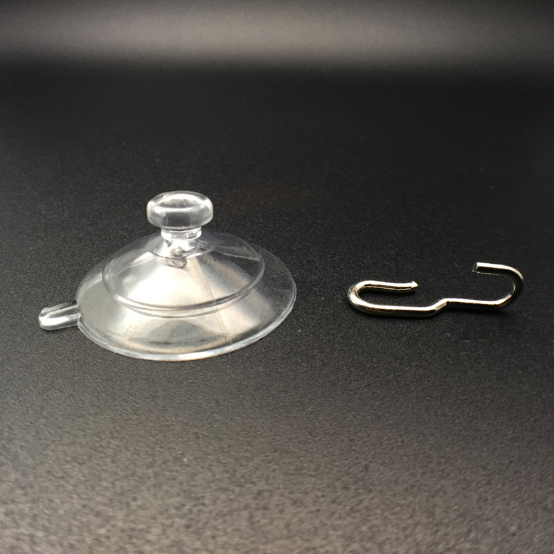 medium suction cups hooks