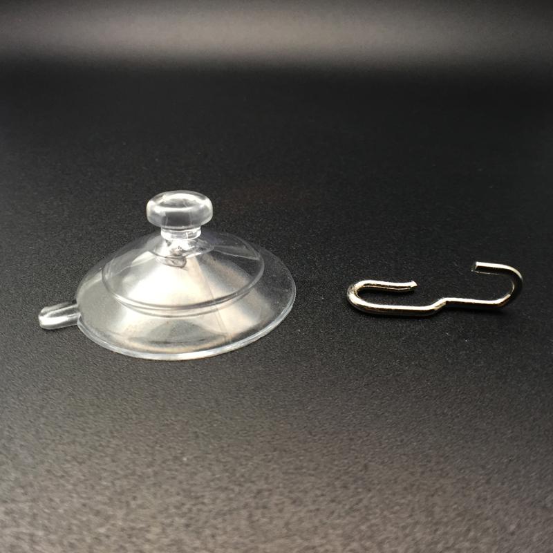 medium suction cups hooks