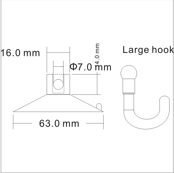 strong sucton hooks