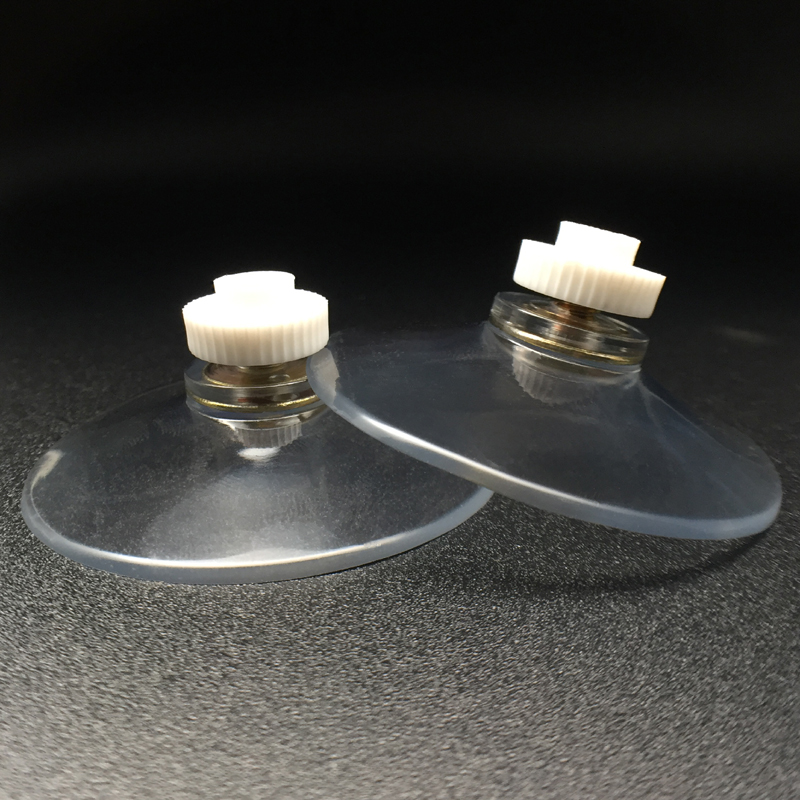 large suction cups with white nuts