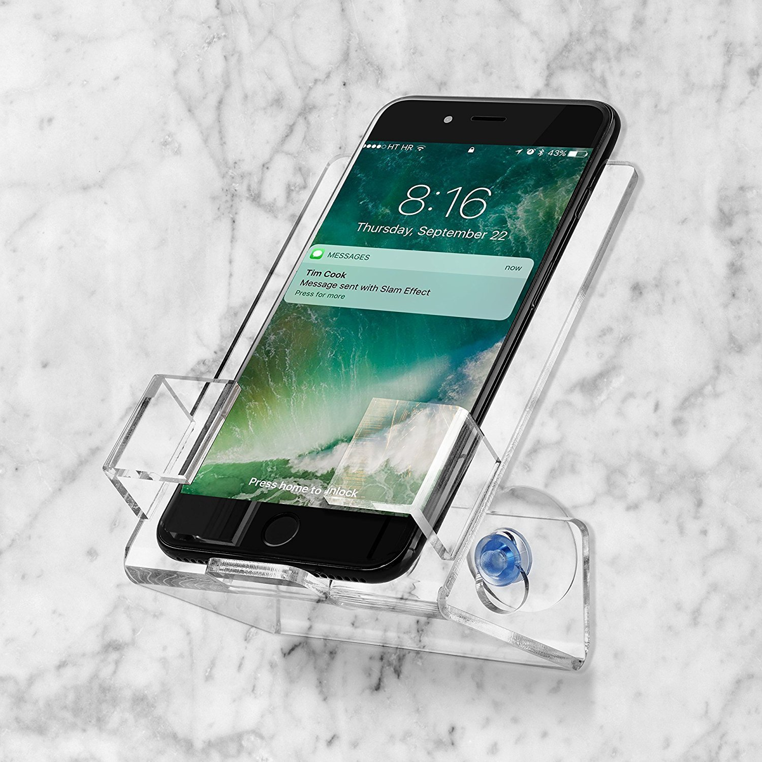 Bath & Shower Car Cell Phone Case Stand Holder - iSuctionCups