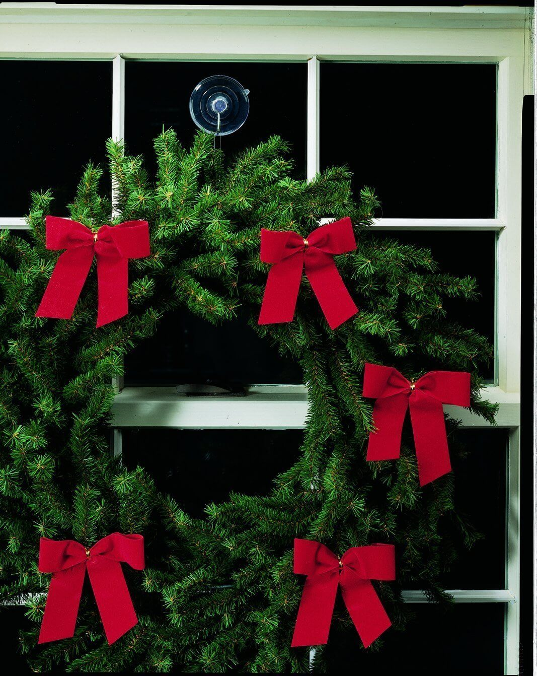 clear suction cup hooks for christmas tree