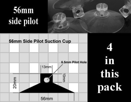 56mm suction cups
