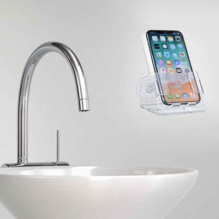 Suction Cups Phone Holder For Bath